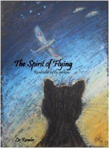 The Spirit of Flying - realitales softly spoken. Temp. cover. Art by the lovely Anja Lüder.