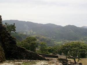 View from the Aztec Temple