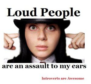loud people